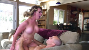 cowgirl dick riding making